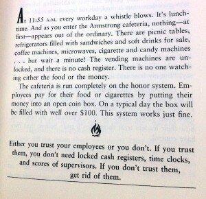 Kun je medewerkers wel vertrouwen